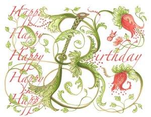 birthday_card Happy Budday   First Crush