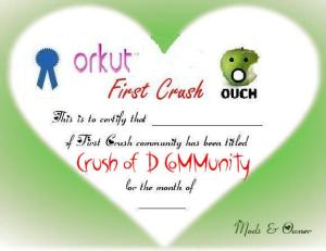 crushnew New Certificates | Which one do you like ??