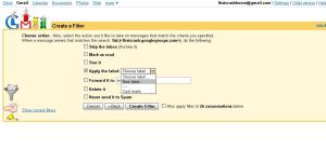 step4 Gmail | Working with labels | Setting up a Label for First Crush