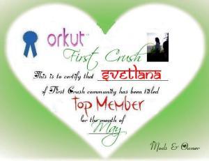 topmember First Crush Winners | May