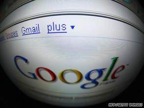 art-google-afp-gi Gmail service has trouble -- again