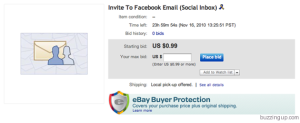 invite-auction How To Get a Facebook Email Invite Right Now?
